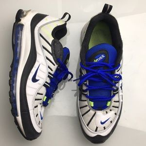 Nike Air Max 97 Racer Blue Running Shoes Mens 11